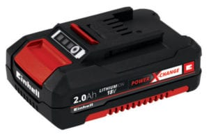 Batteri 18 Volt 2,0 Ah lang levetid Power-X-Change