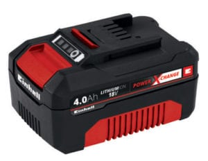 Batteri 18 Volt 4,0 Ah med lang levetid Power X-Change