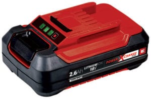 Batteri 18 Volt 2,6 Ah med lang levetid Power X-Change