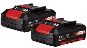 Batterier Twinpack 2 stk. 18 Volt 2,0 Ah Power X-Change